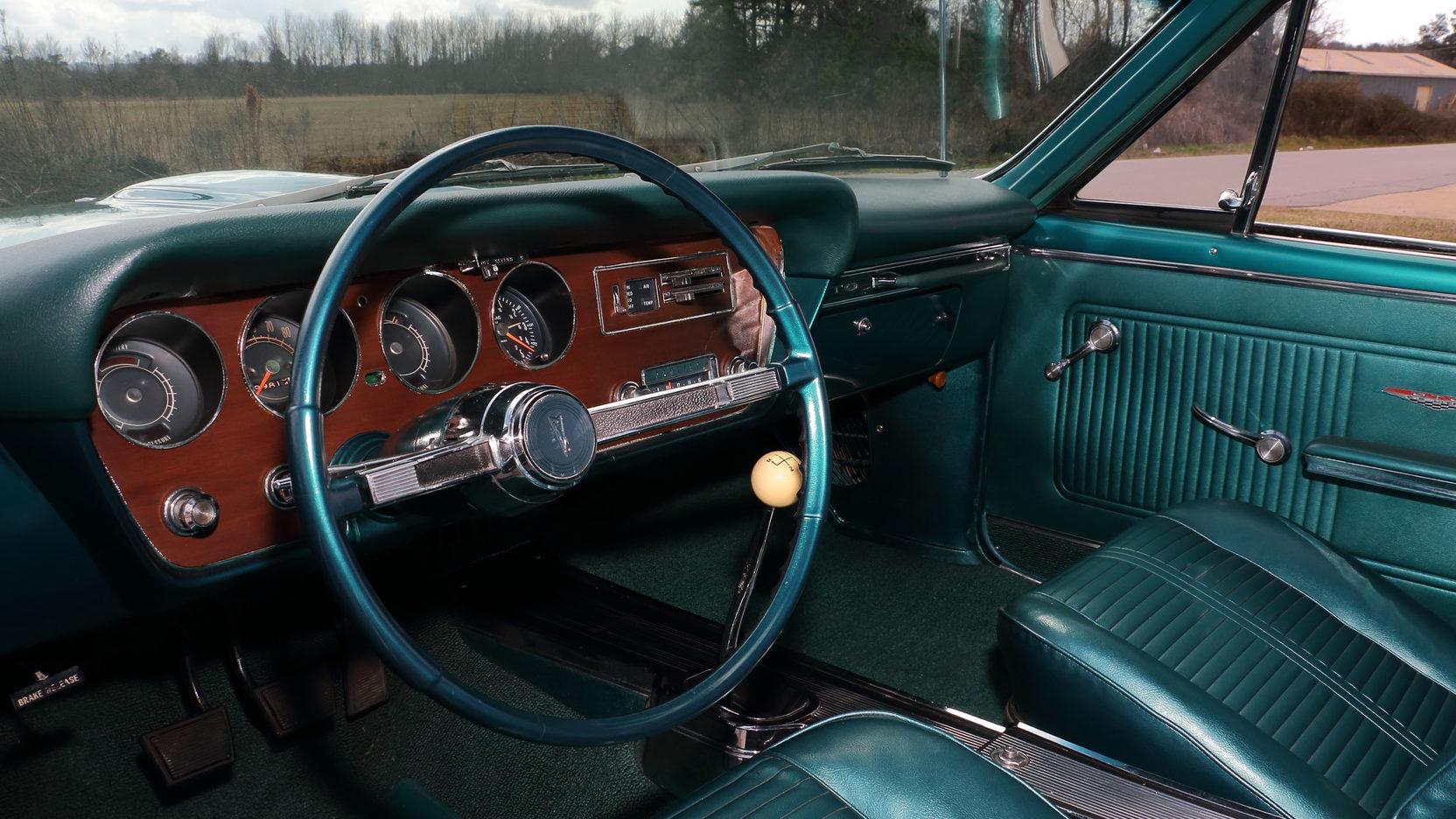 1966 Pontiac GTO interior