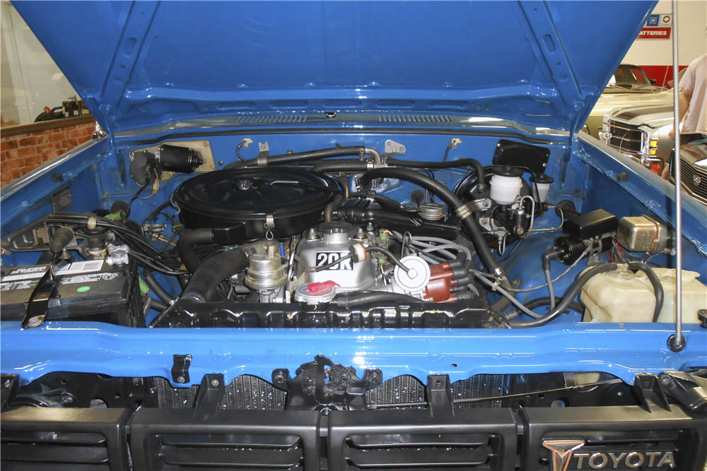 1980 Toyota 4X4 Pickup engine