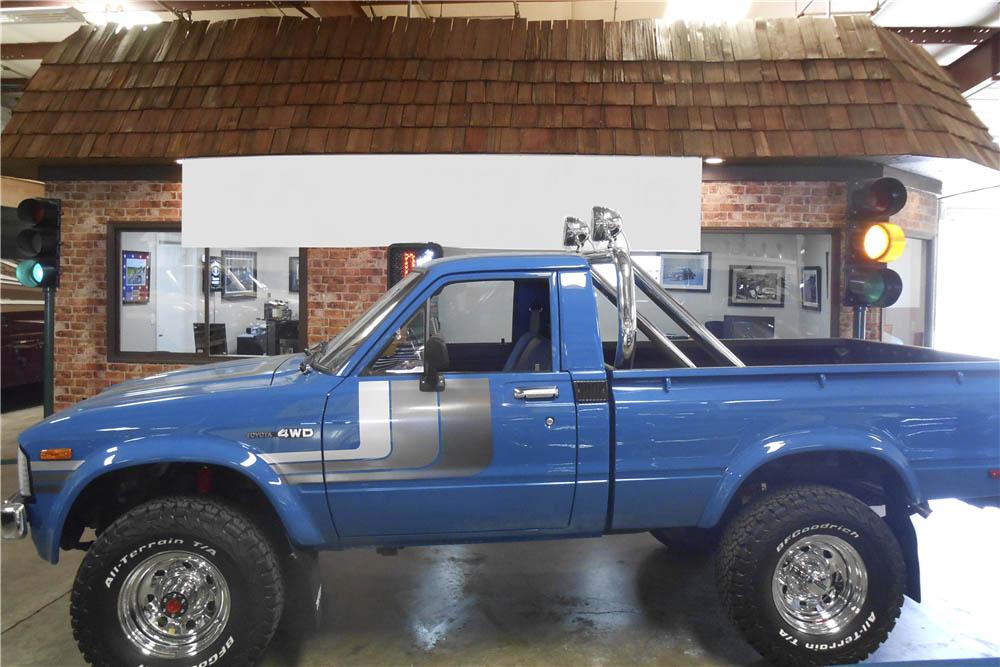 1980 Toyota 4X4 Pickup profile