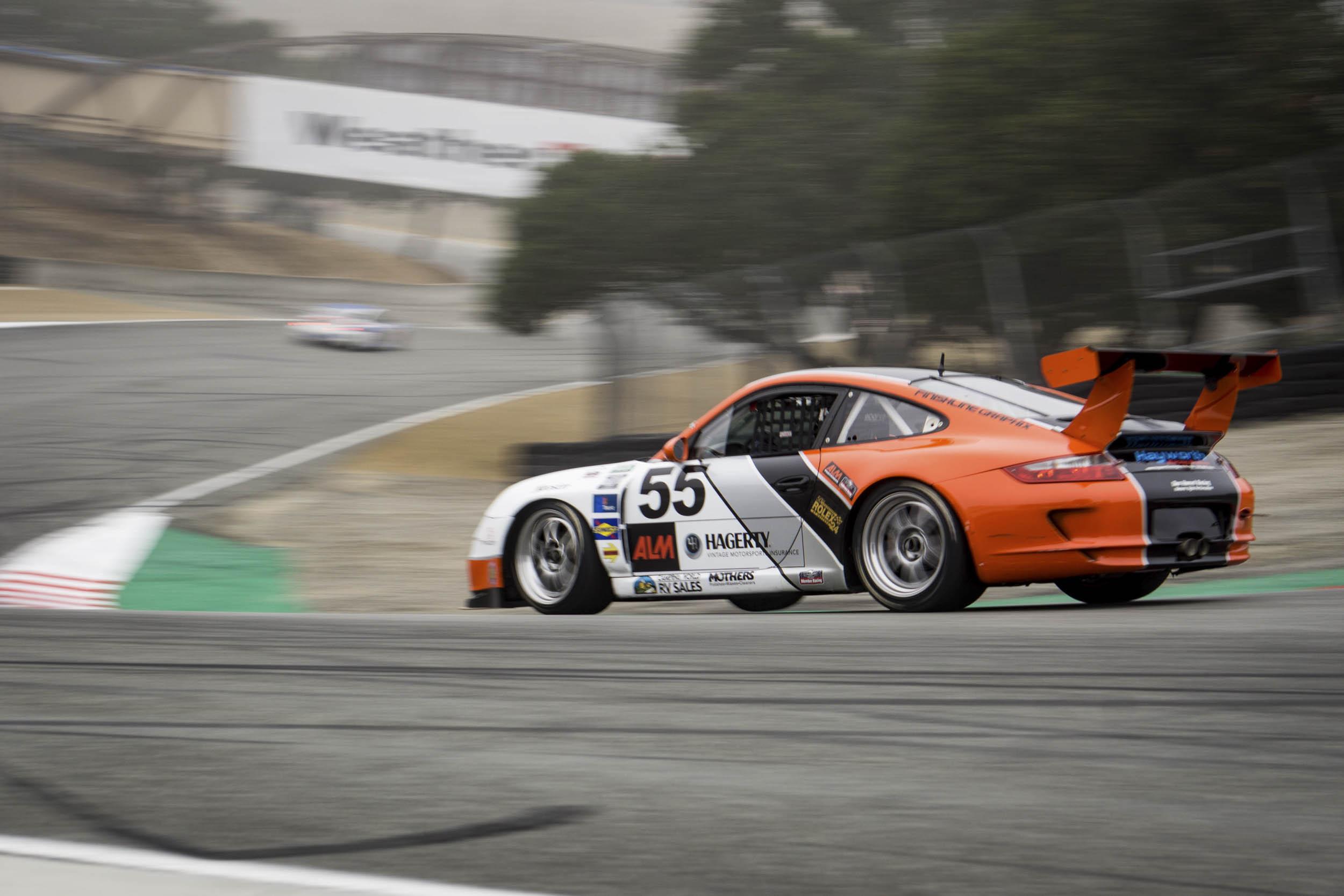 Larry Webster's 2008 Porsche 911 GT3