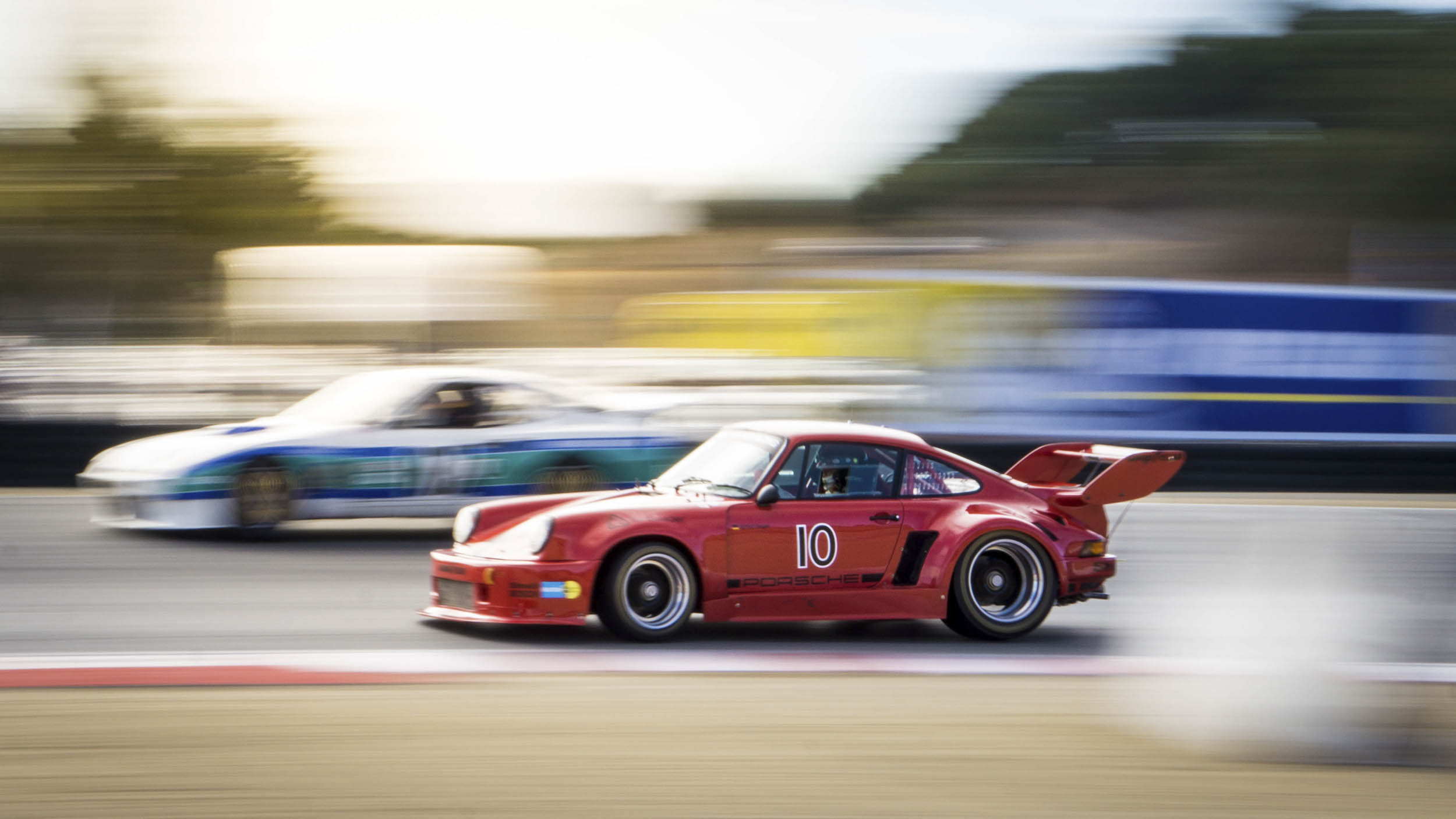 """Altfrid Heger had arguably the fastest car in the Weissach Cup group. A precursor to the 1978  """"Moby Dick"""" 935, his 1976 Porsche 935 ate up the competition."""