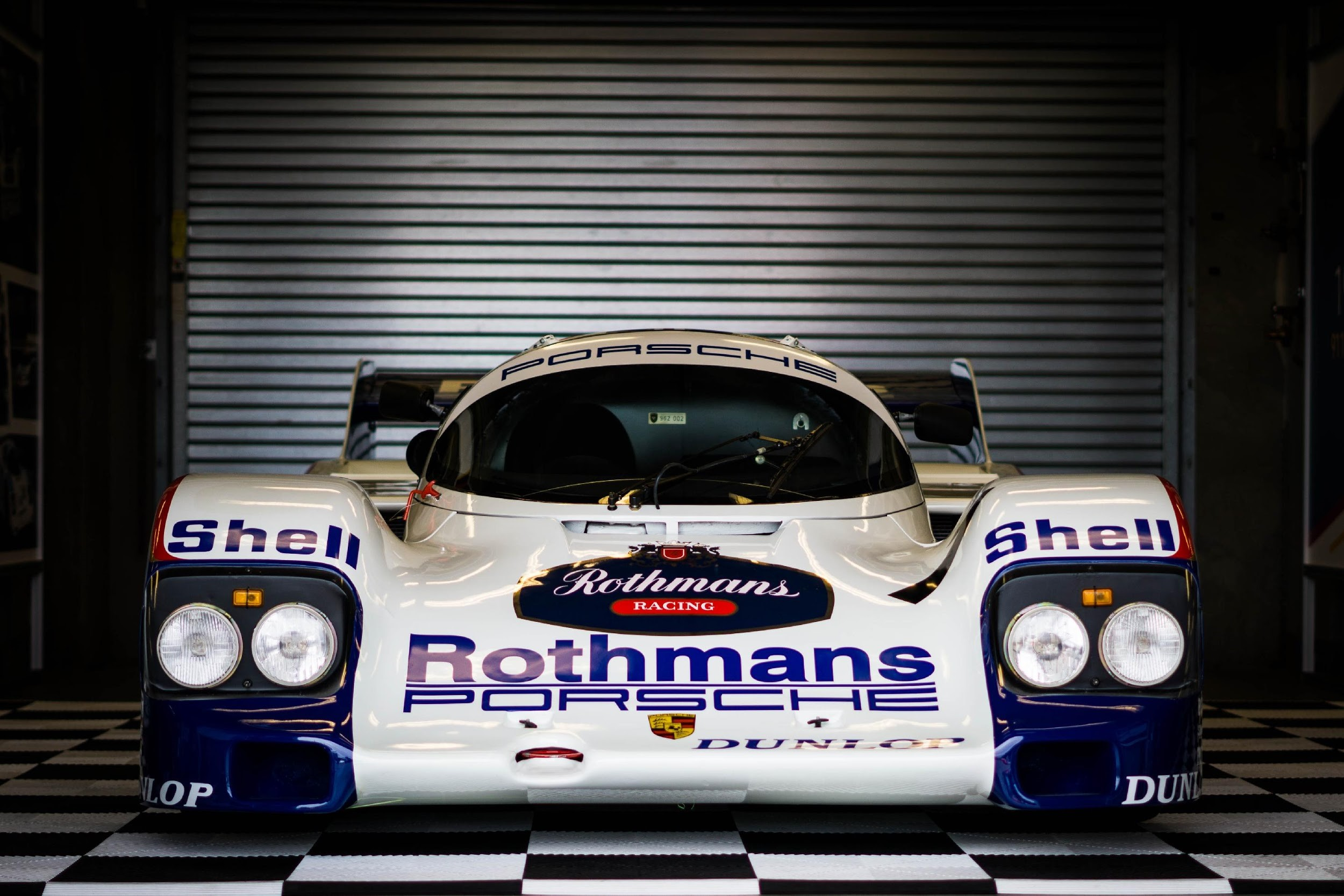 Among the slew of 962s on the property during Rennsport, this Rothman-liveried road racer may be the most iconic. As a part of the Porsche paddock, it was on display for the entirety of Rennsport. During the event we sat down with famed racer Bobby Rahal. His favorite race car? The 962.