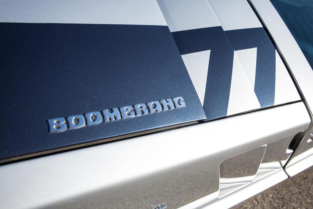 Maserati Boomerang badge