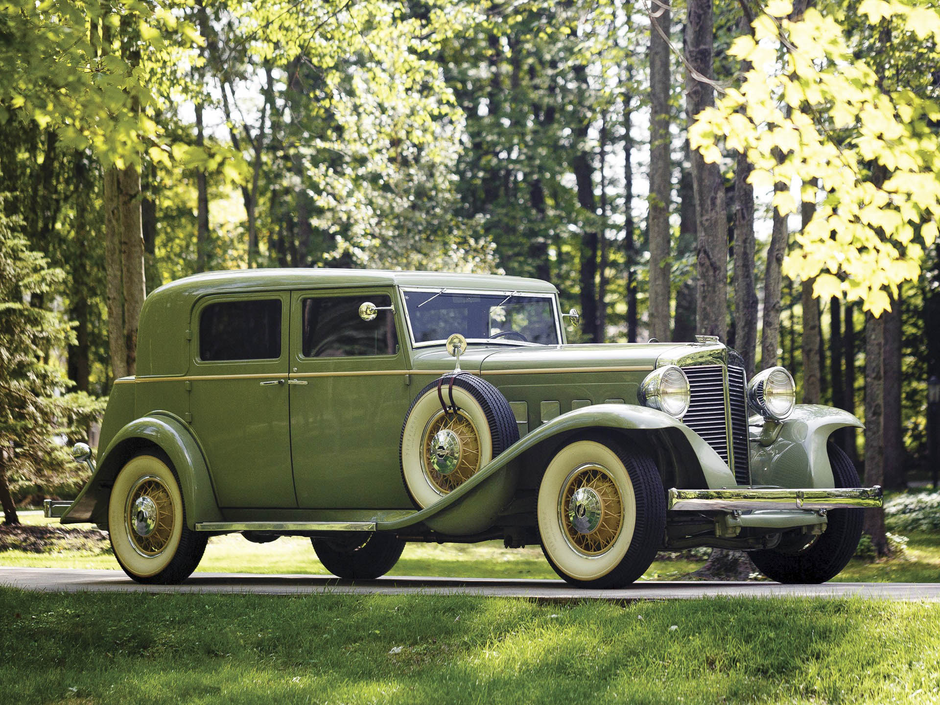 1932 Marmon Sixteen Close-Coupled Sedan by LeBaron