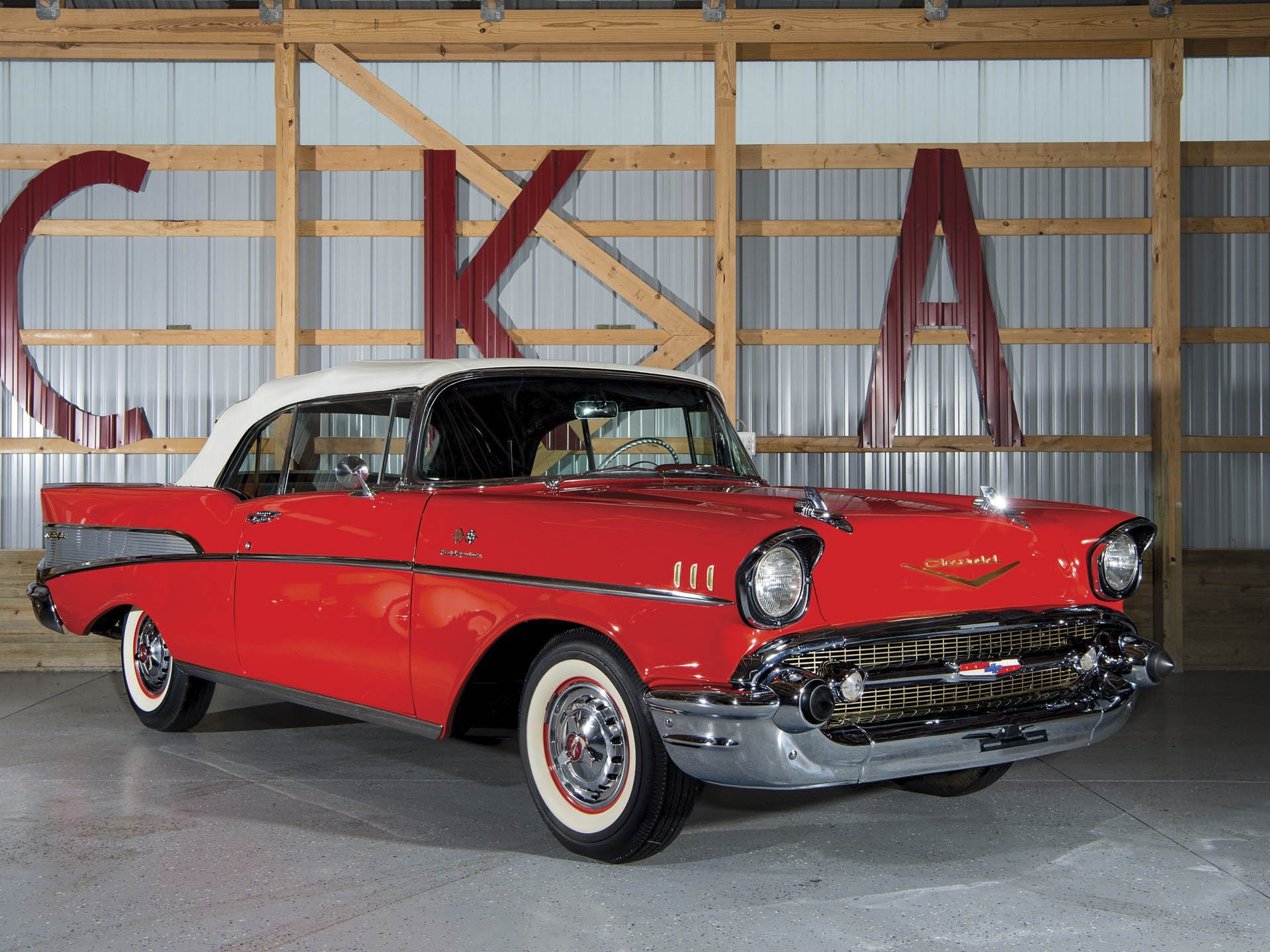 1957 Chevrolet Bel Air 'Fuel-Injected' Convertible