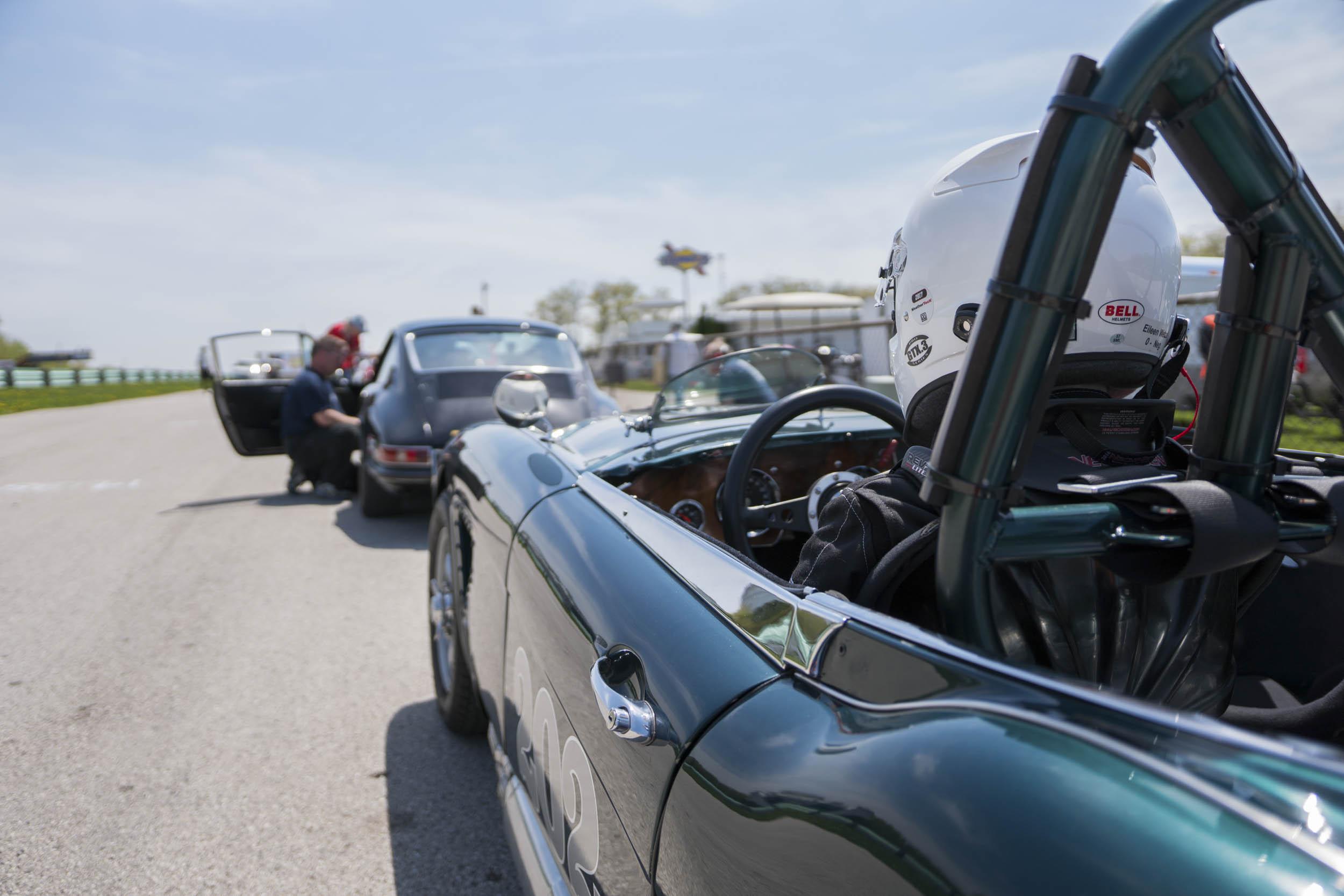 Eileen Wetzel's 1966 Austin-Healey 3000