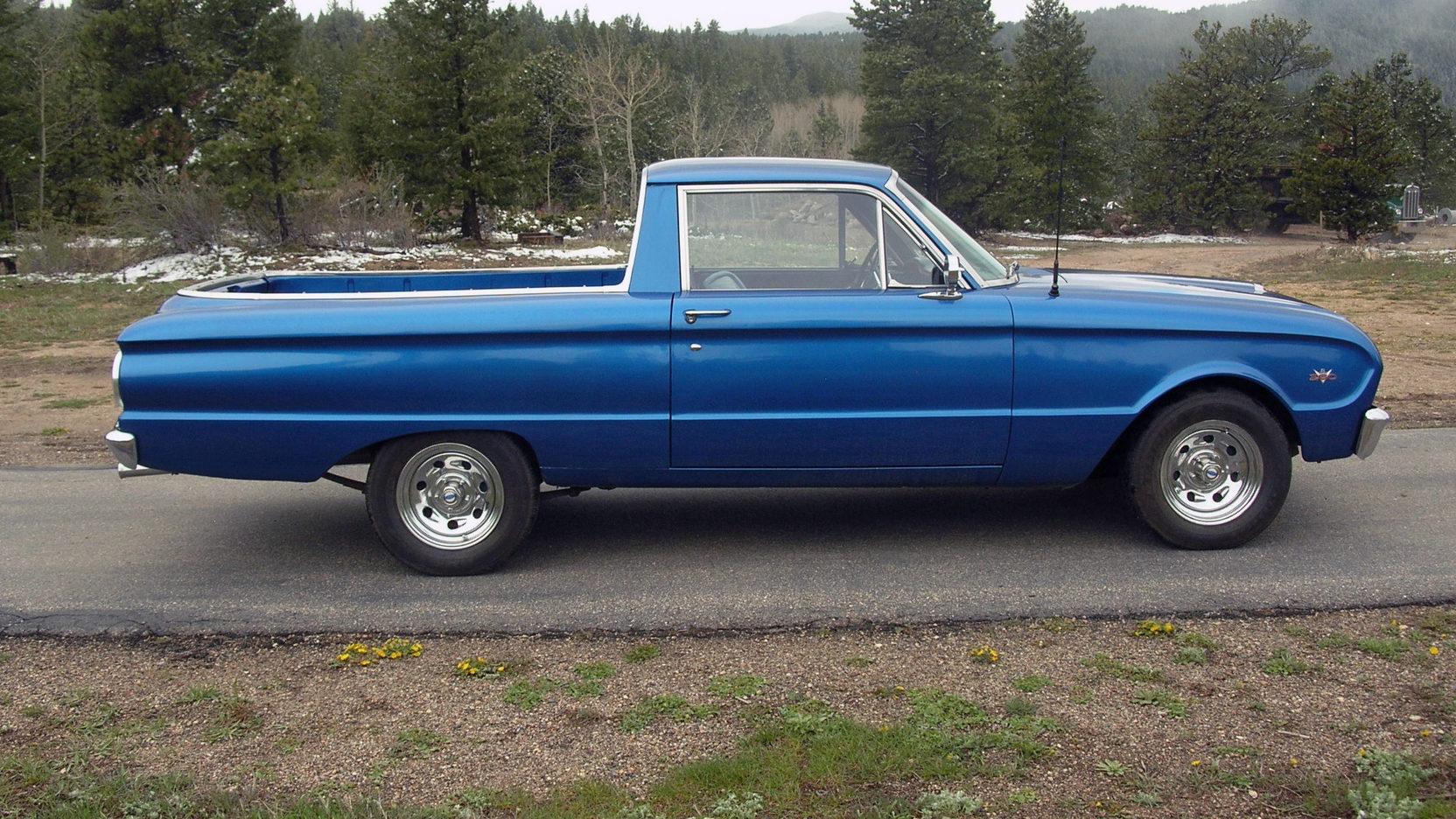 1963 Ford Ranchero profile