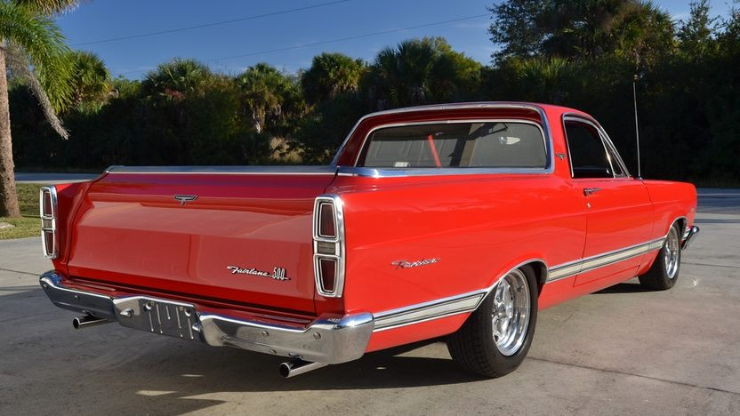 1967 Ford Ranchero rear 3/4