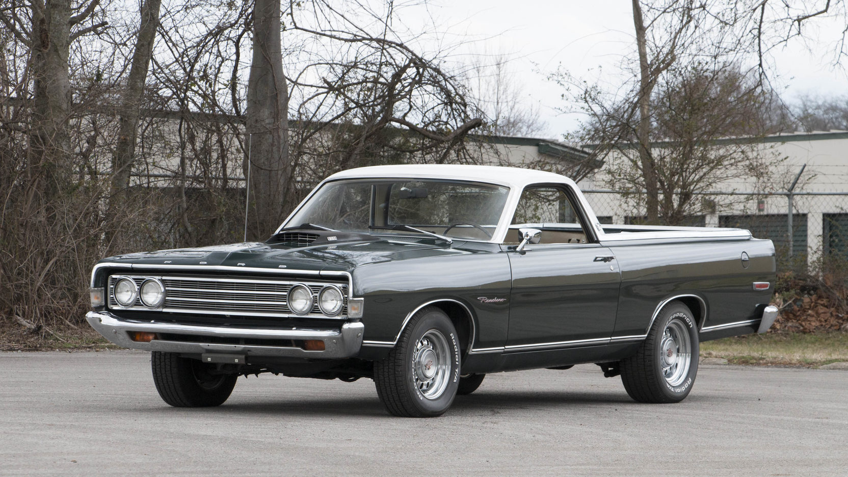 1969 Ford Ranchero front 3/4