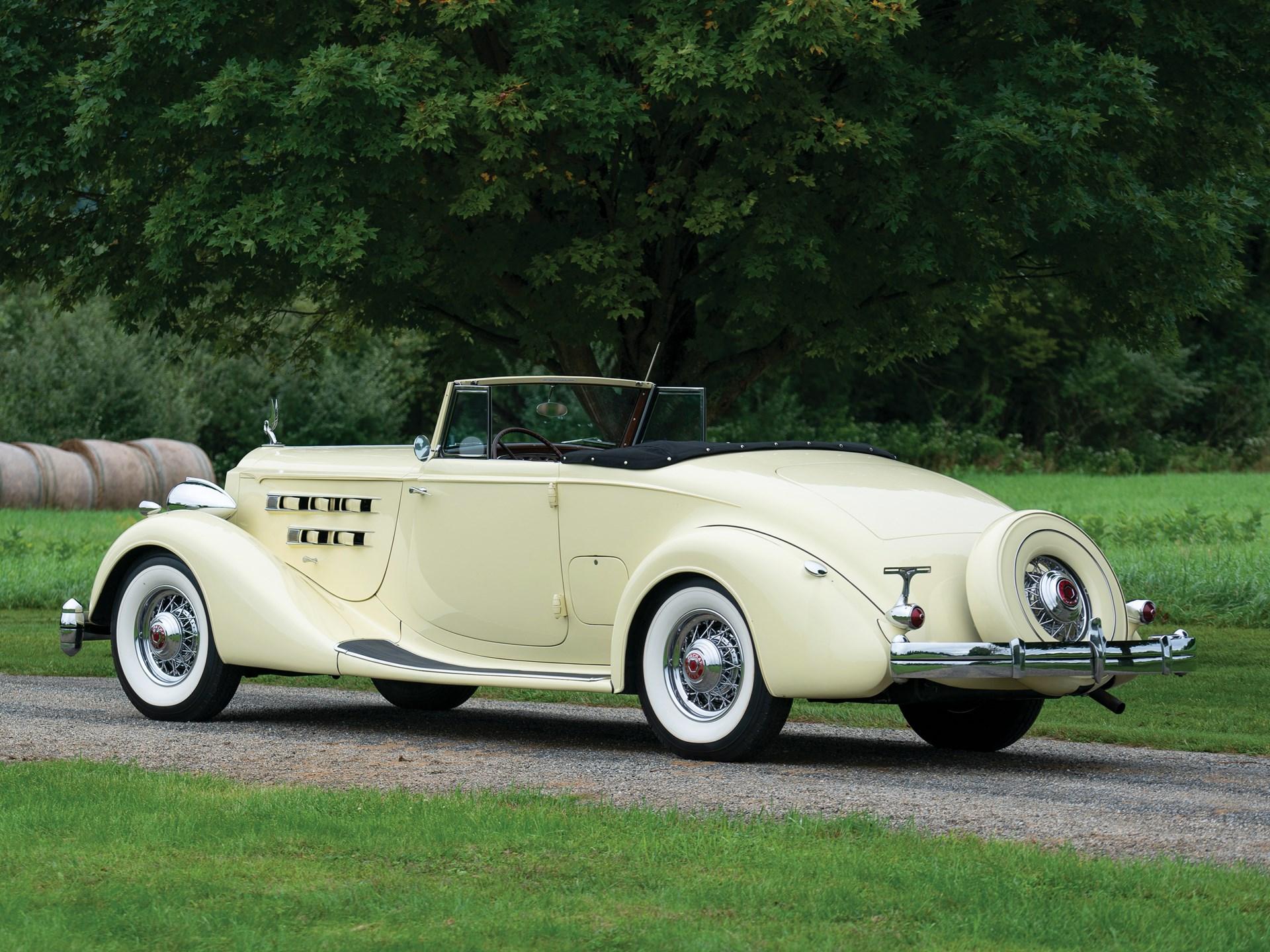 1936 Packard Twelve Coupe Roadster