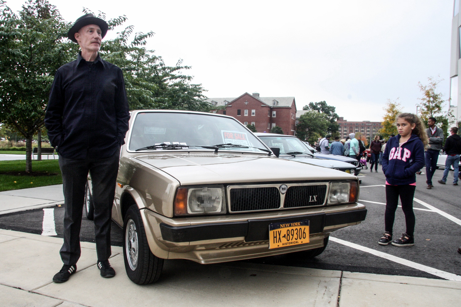 Mark Skinner, the owner of this '82 Lancia Delta, also owns a handful of old Saabs and an '86 Toyota Tercel 4WD wagon.