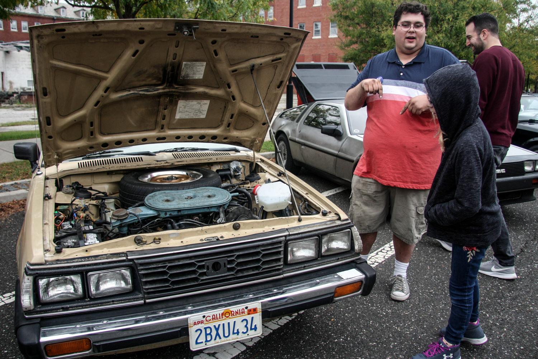 Wesley Duckett drove his '84 Subaru GL hatchback to Radwood from Marietta, Ga.