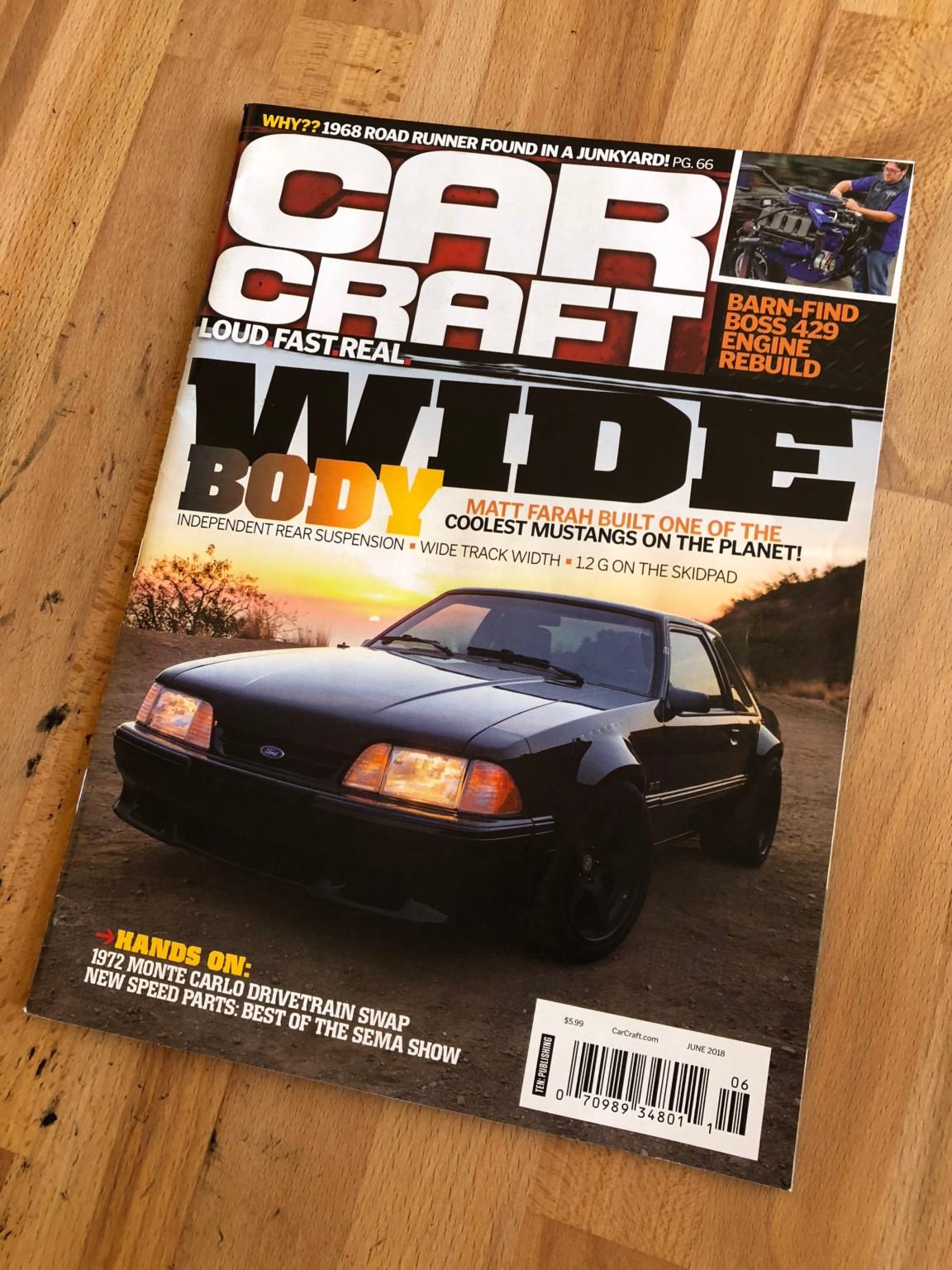 Matt Farah Smoking Tire Fox Body Bring a Trailer car craft cover