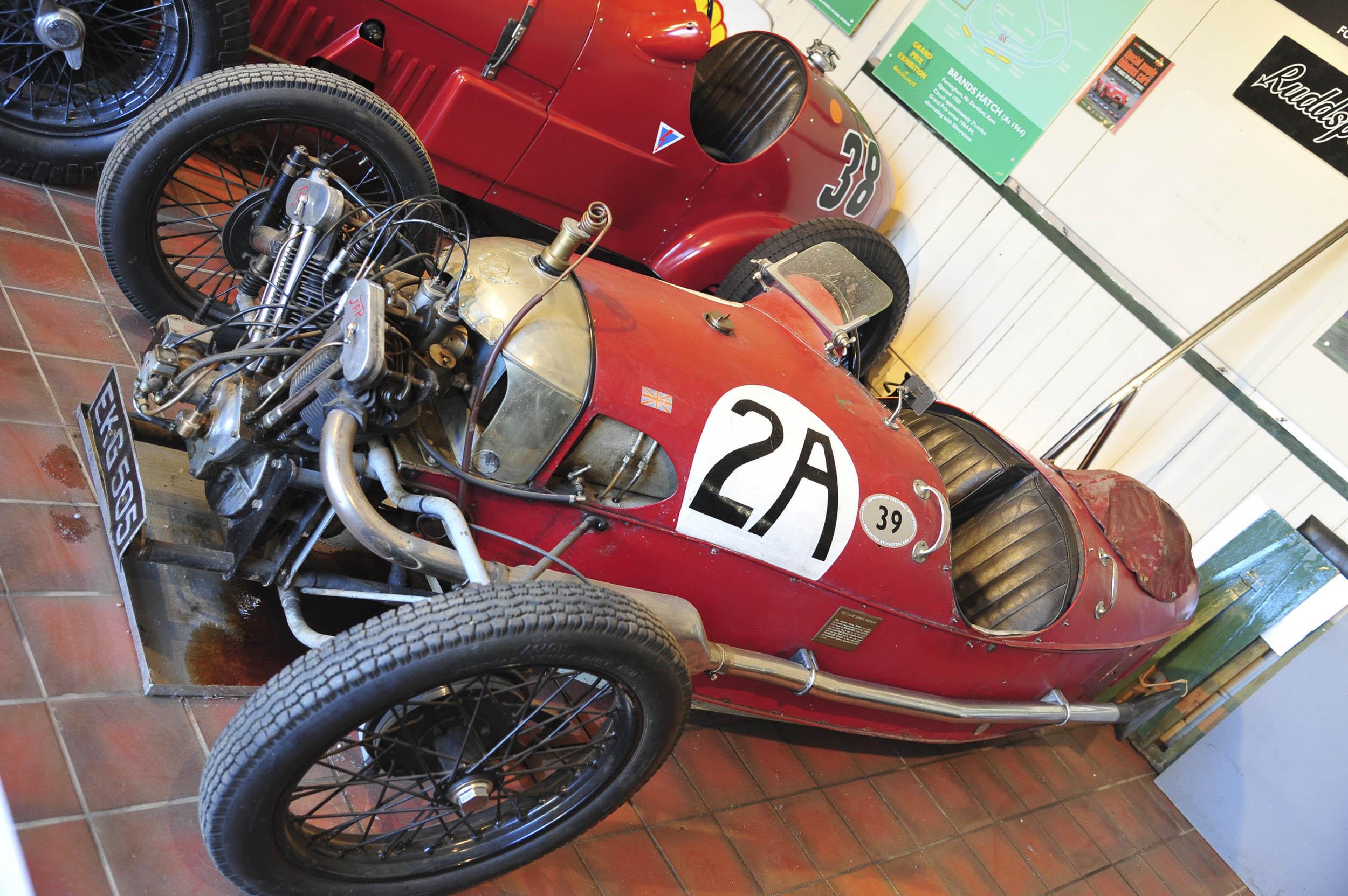 Brookland Museum classic race car