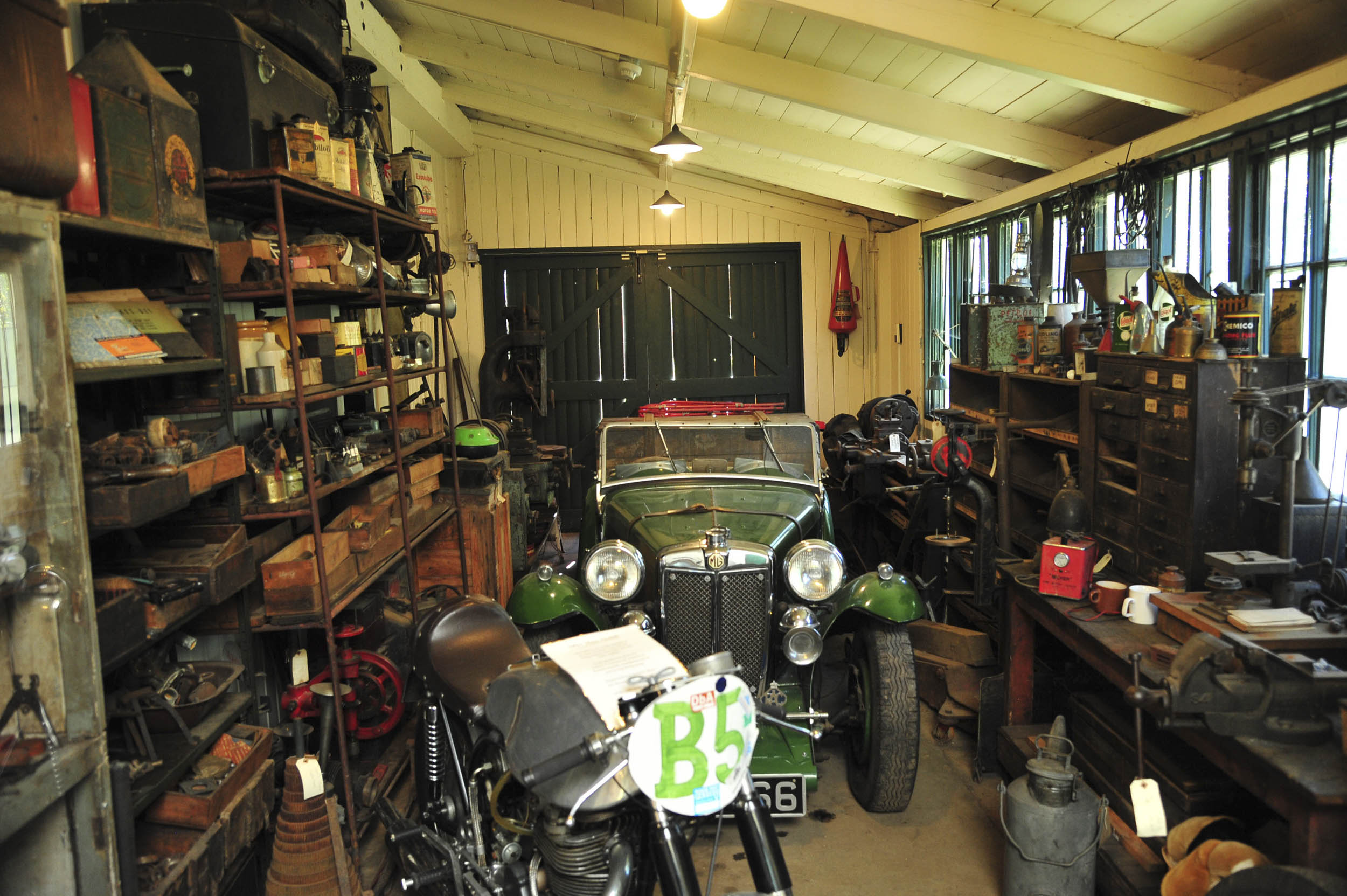 Brookland Museum garage