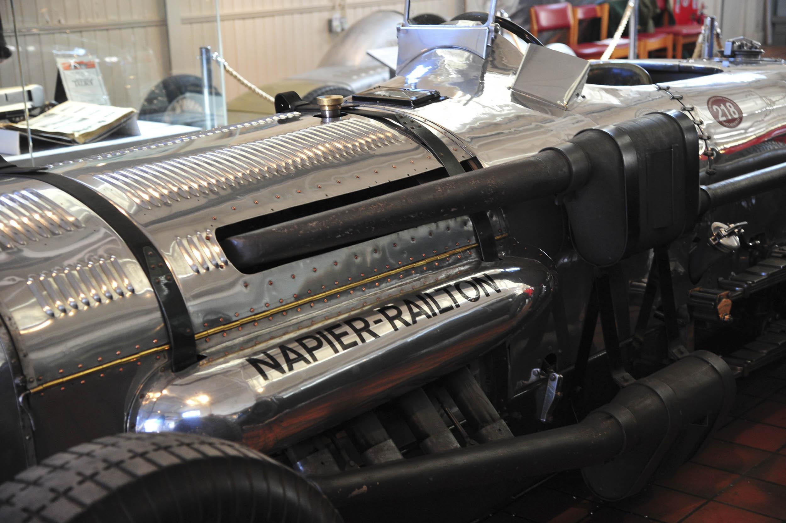 Brookland Museum Napier-Railton race engine