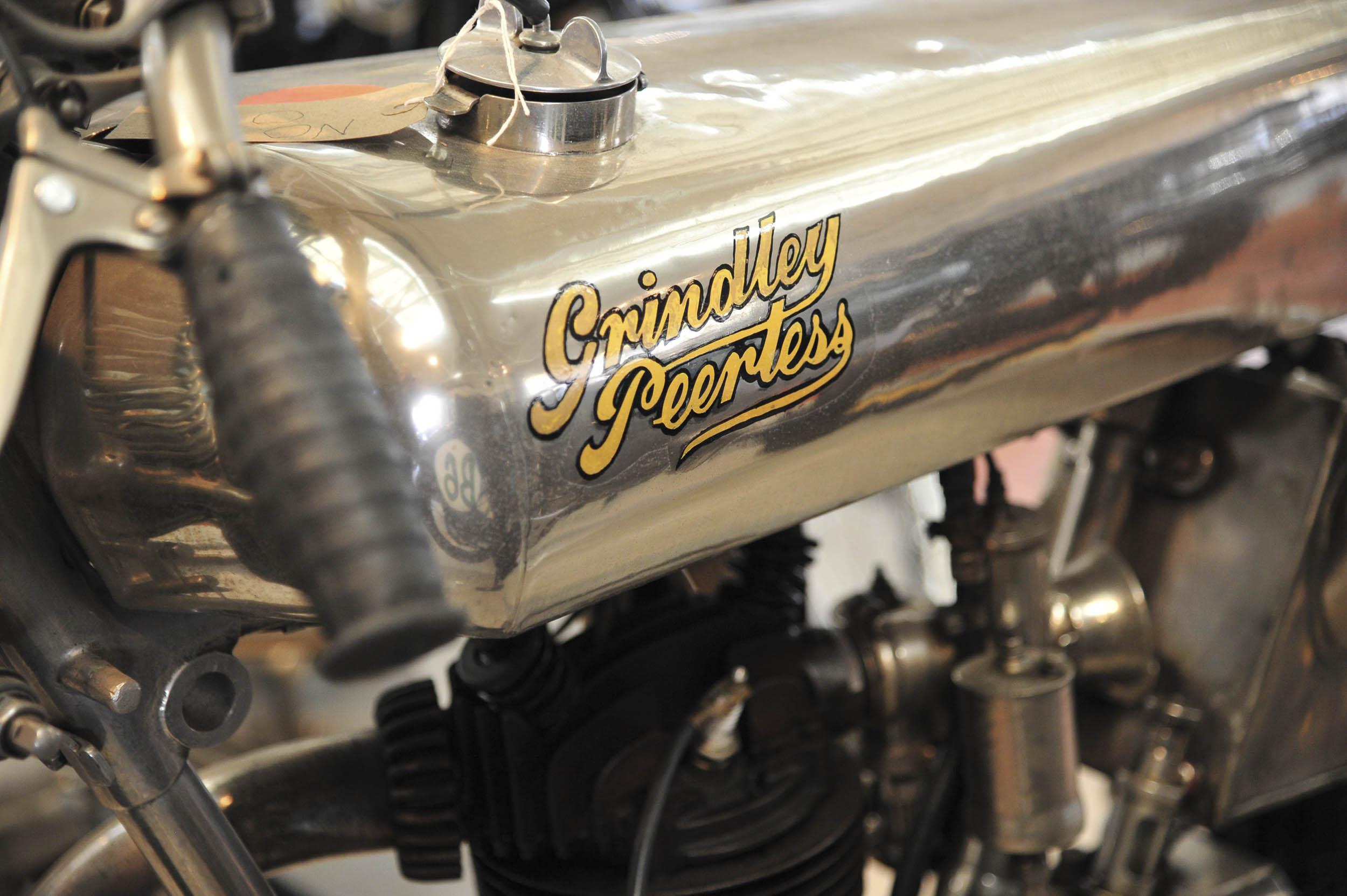 Brookland Museum Grindlay Peerless motorcycle