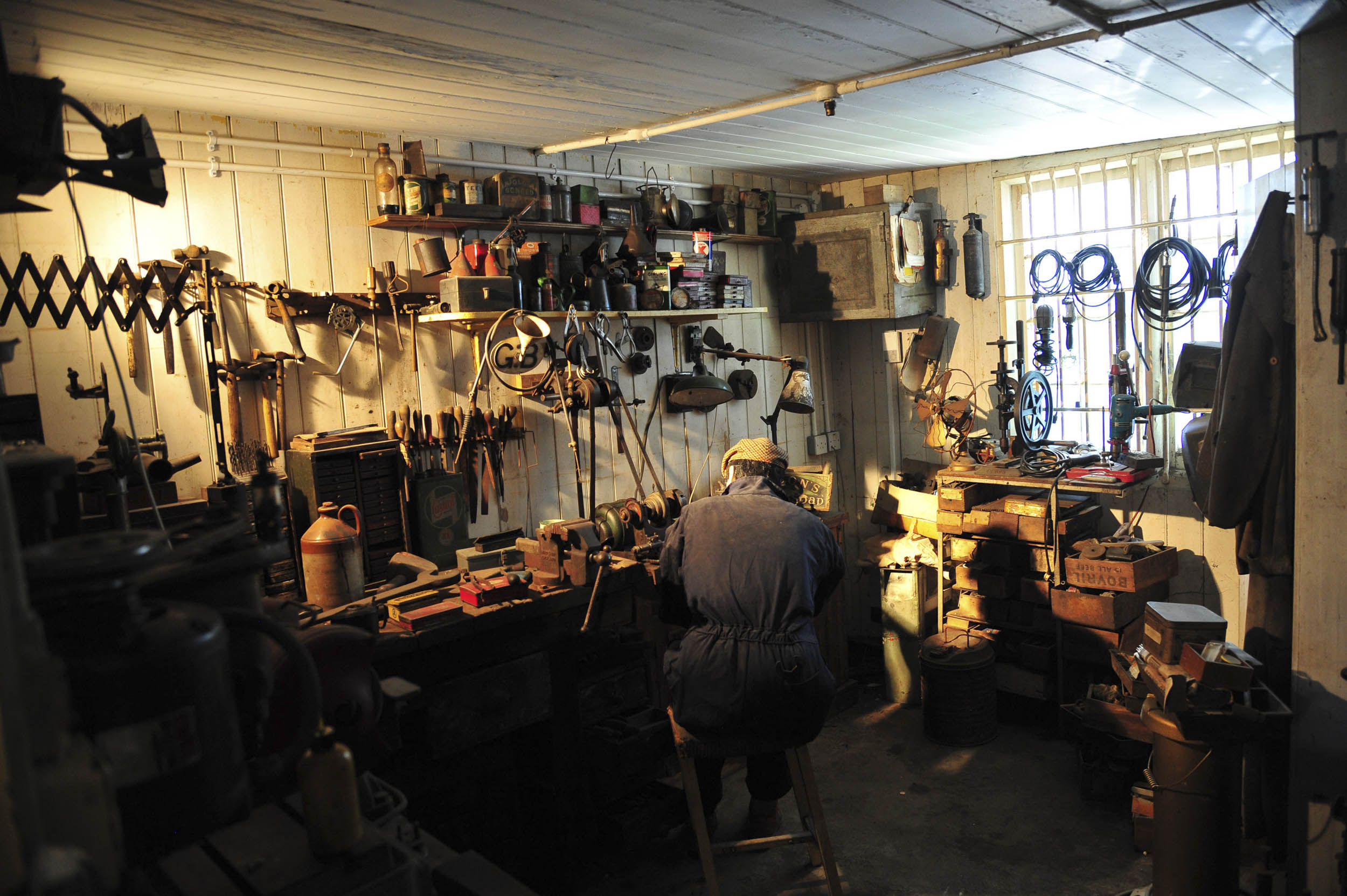 Brookland Museum work shop
