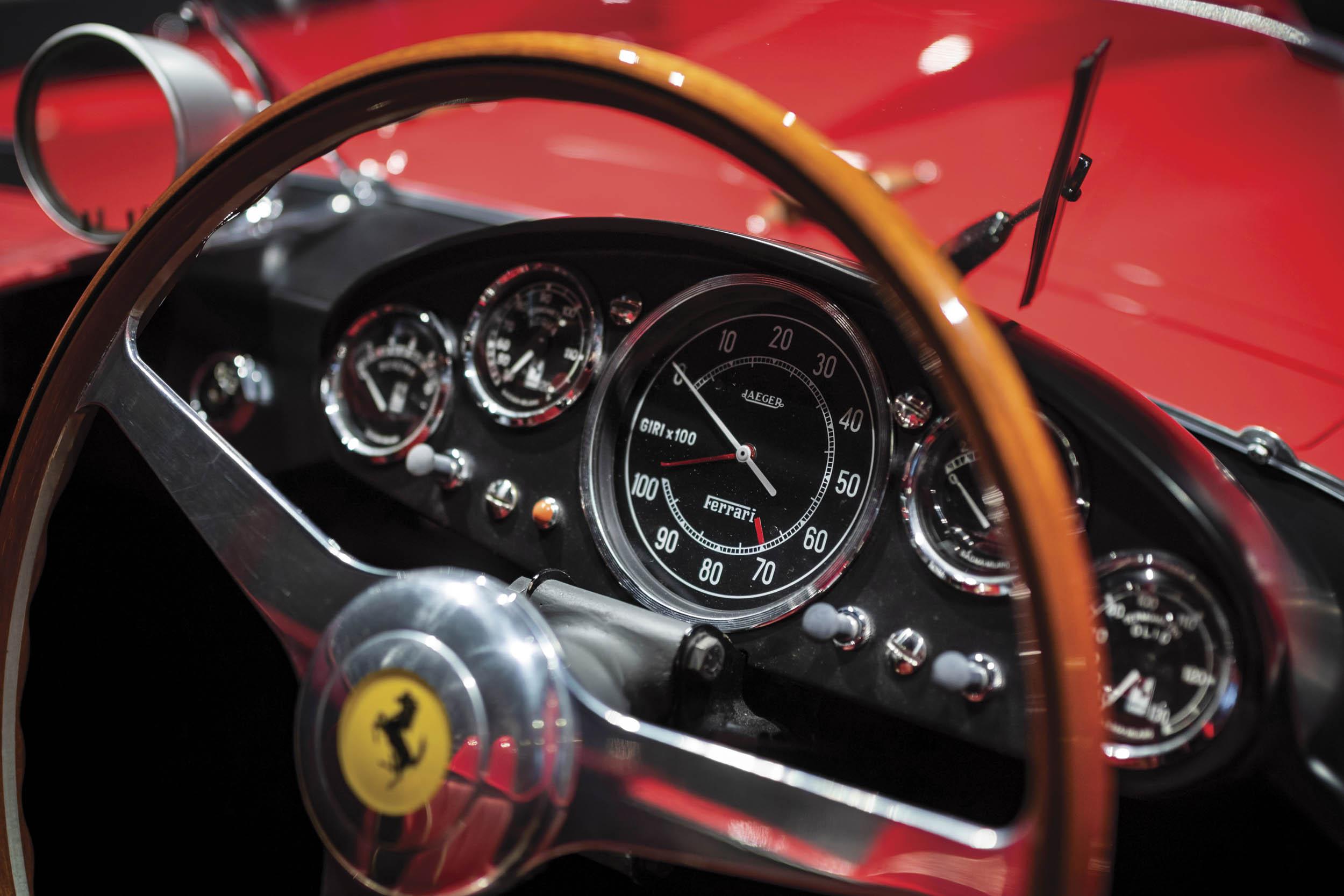 1956 Ferrari 290 MM steering wheel