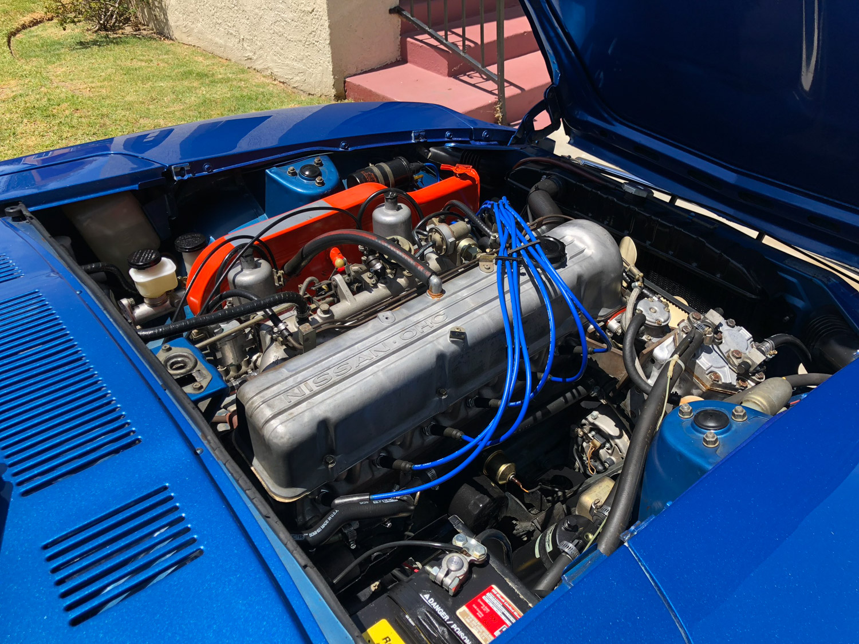 1971 Datsun 240Z engine