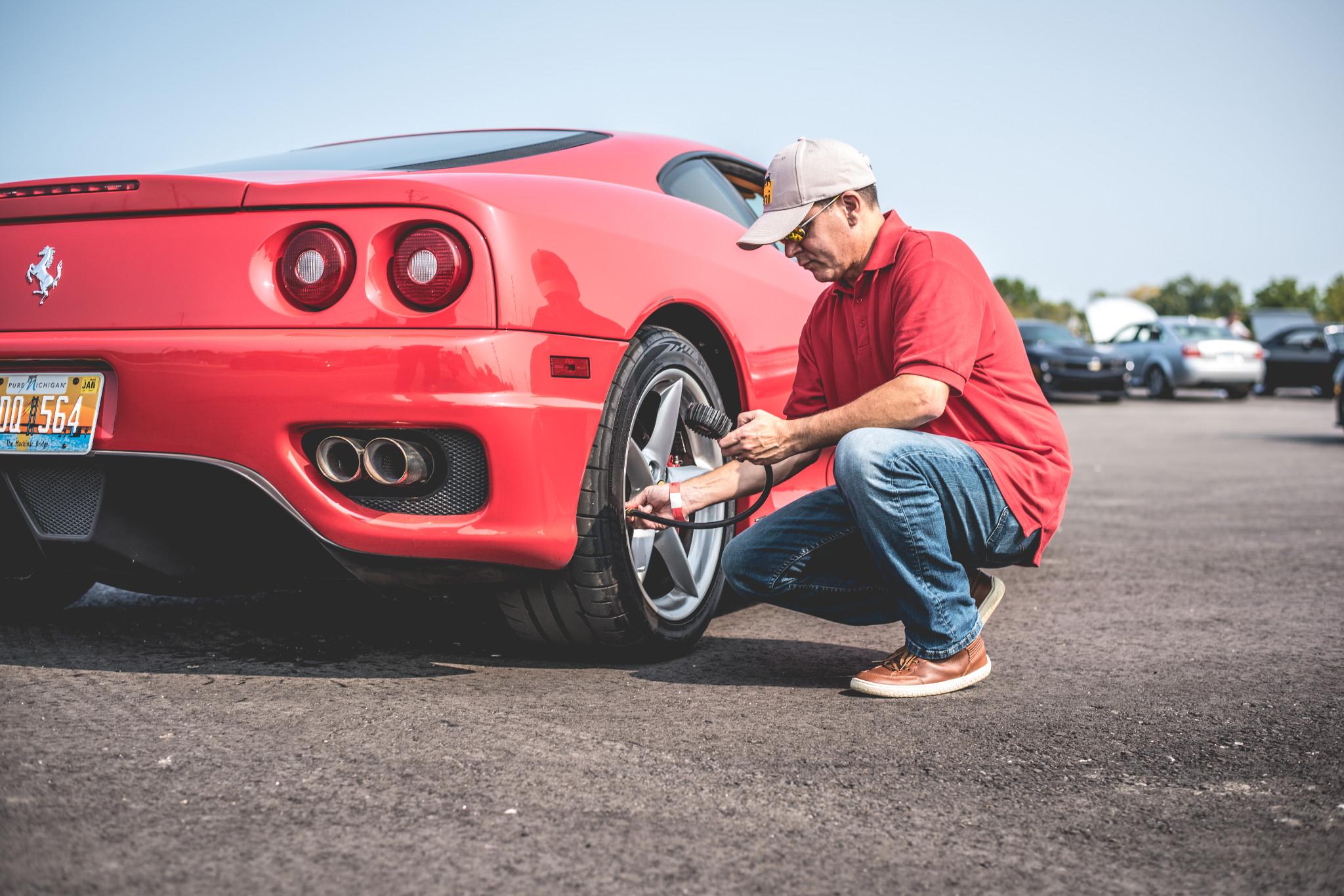 Ferrari tire care