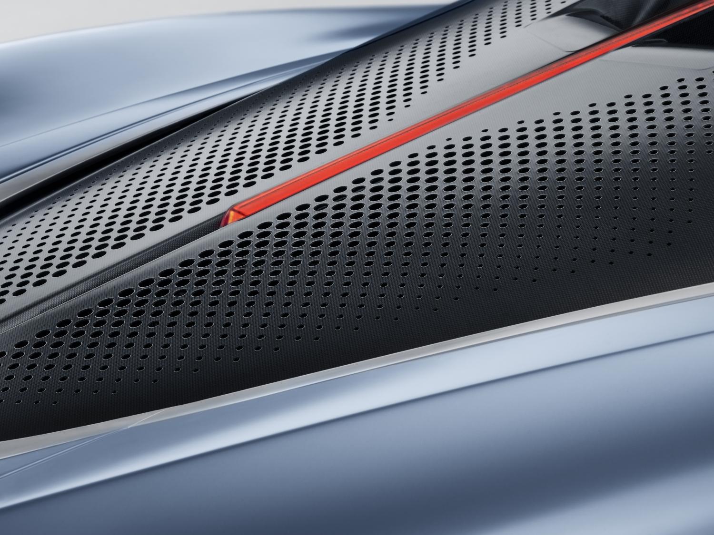 McLaren Speedtail grille detail