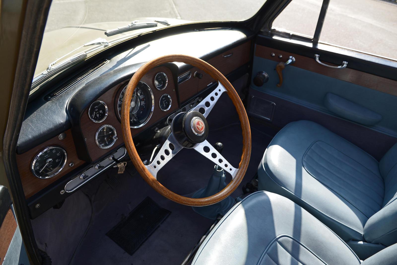 1965 Morris Mini Cooper S MkI interior