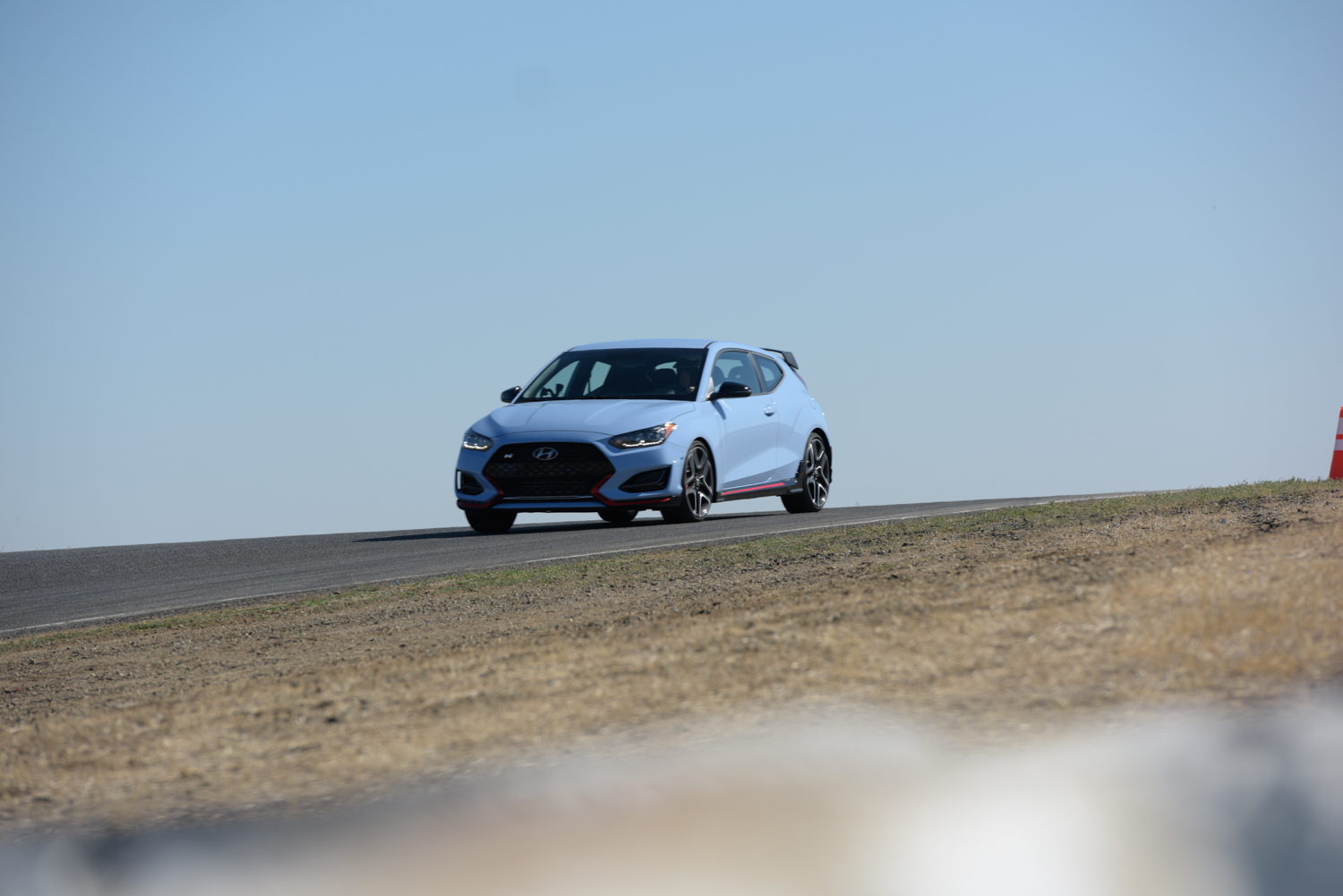 2019 Hyundai Veloster N hill 3/4 low