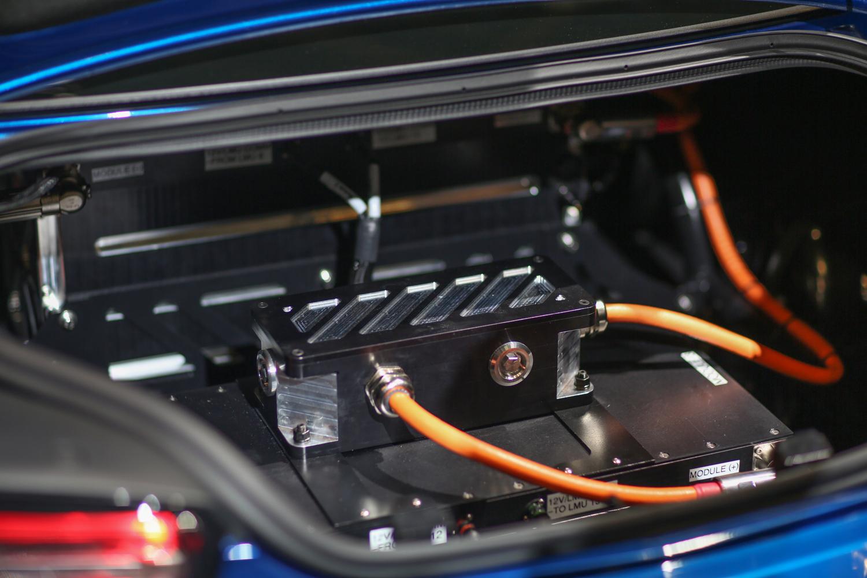 eCOPO Camaro concept trunk battery