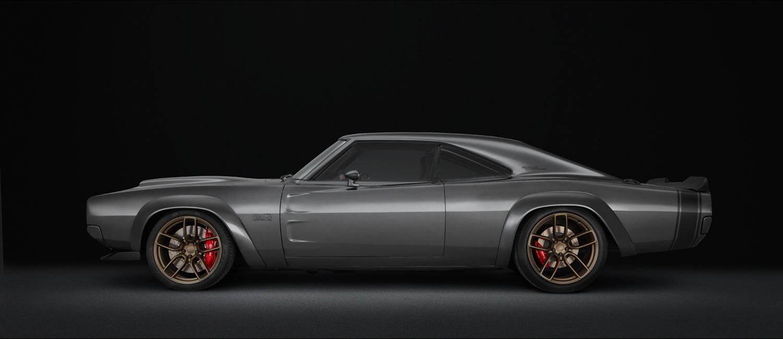 Dodge SRT Hellephant crate engine side profile
