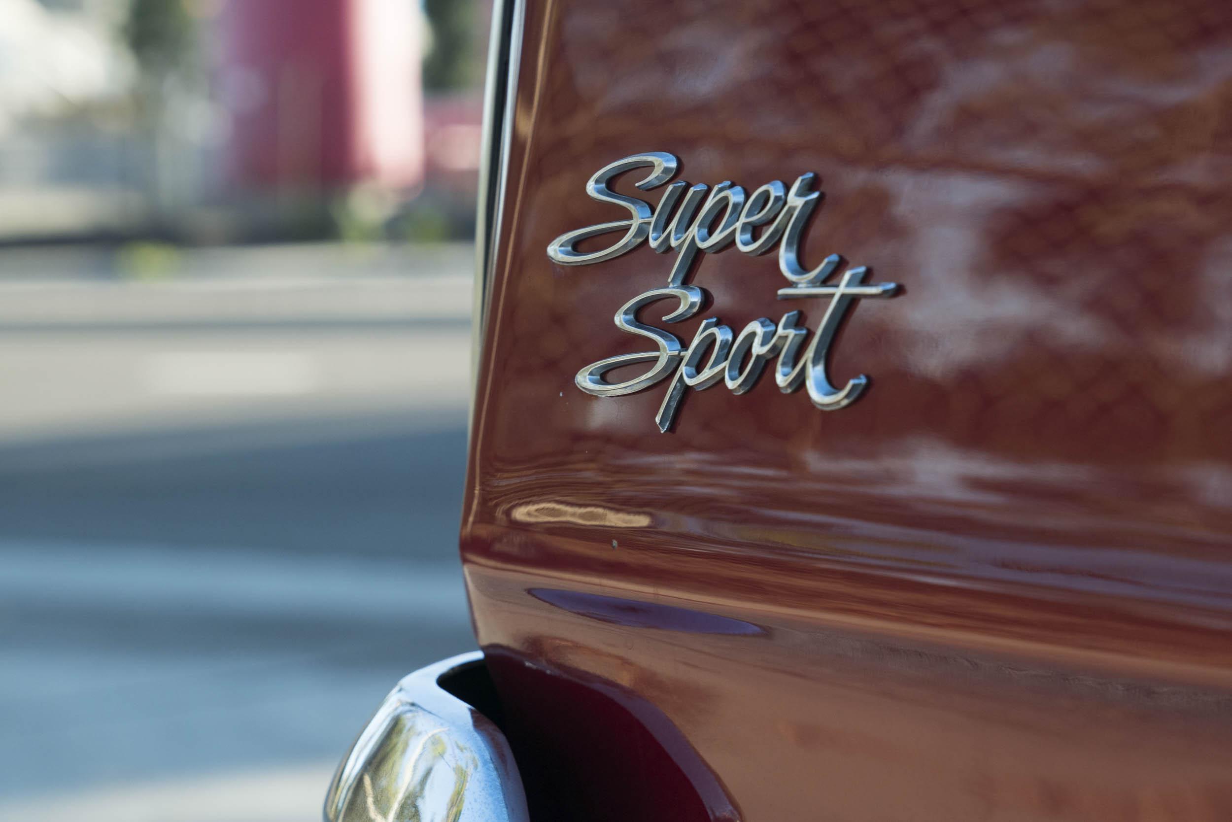 1967 Chevrolet Nova SS badge