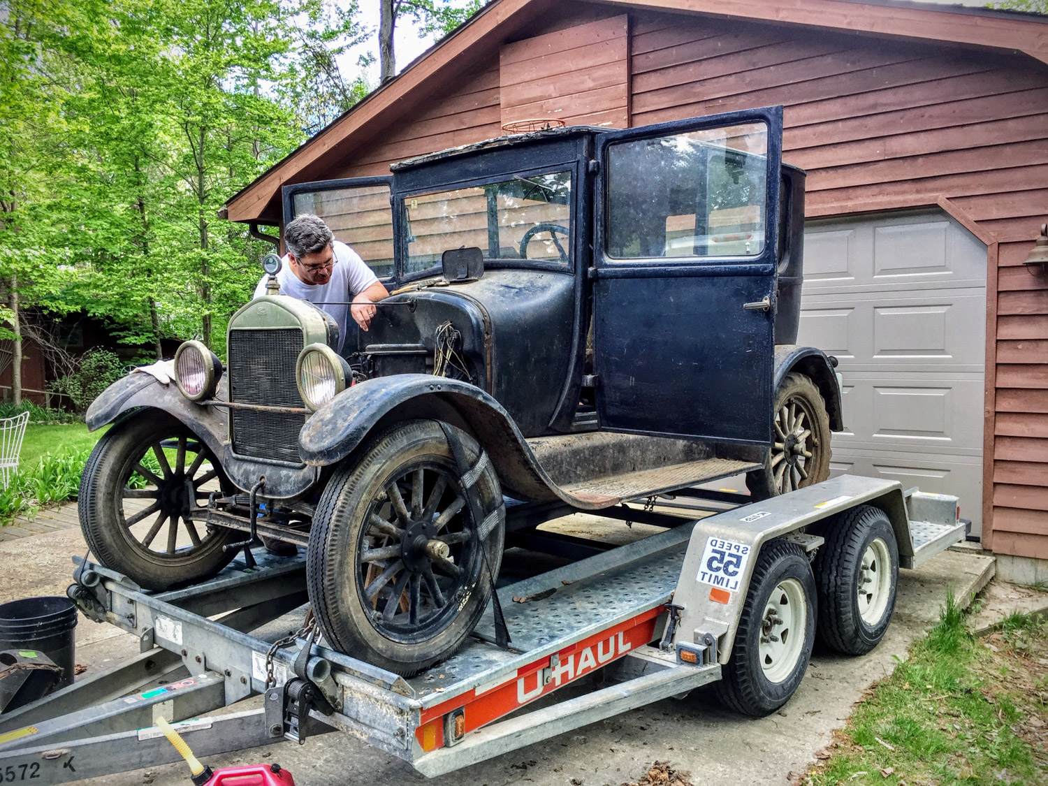 Ford Model T First Drive Barn Find