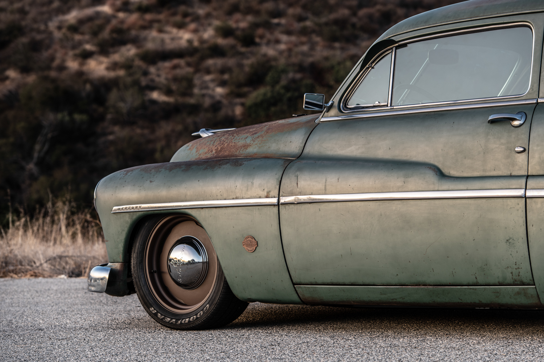 Icon Derelict 1949 Mercury Coupe front quarter fender