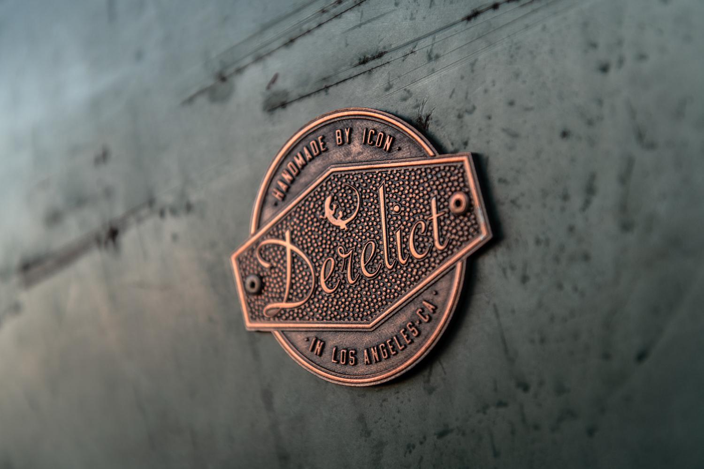Icon Derelict 1949 Mercury Coupe badge
