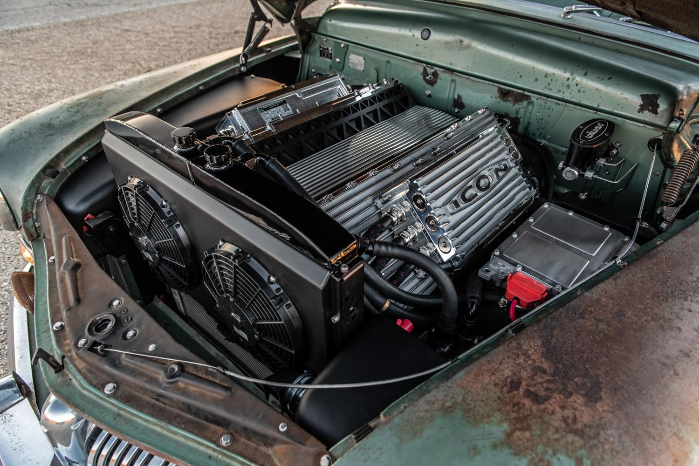 Icon Derelict 1949 Mercury Coupe EV motor