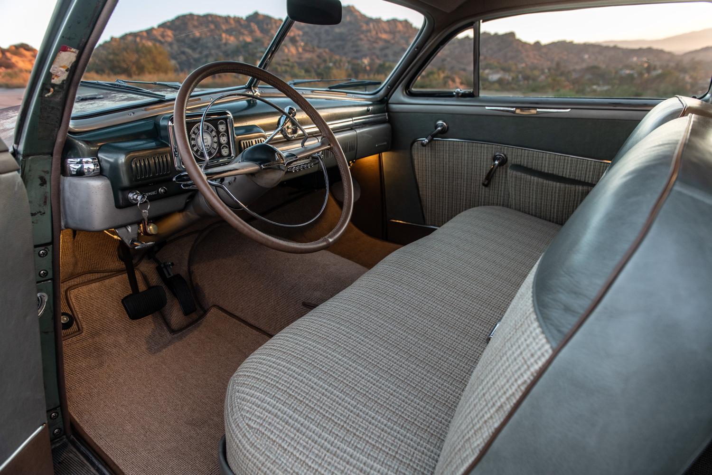 Icon Derelict 1949 Mercury Coupe interior