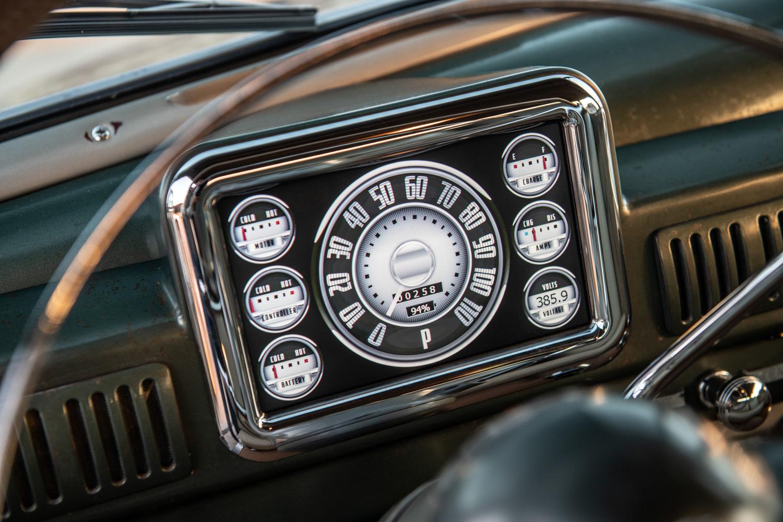 Icon Derelict 1949 Mercury Coupe gauges