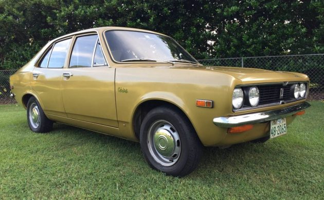 1971 Plymouth Cricket front 3/4
