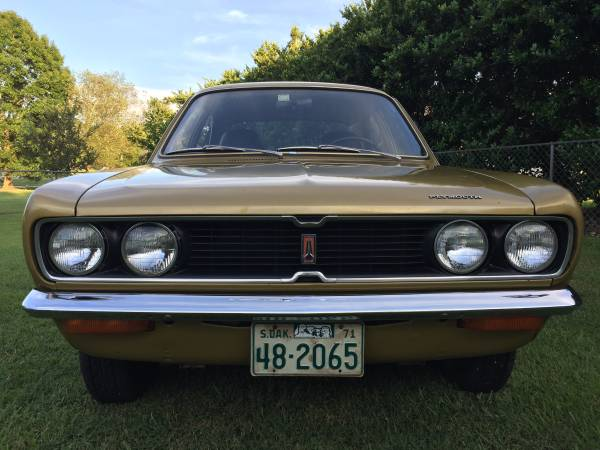 1971 Plymouth Cricket front grille