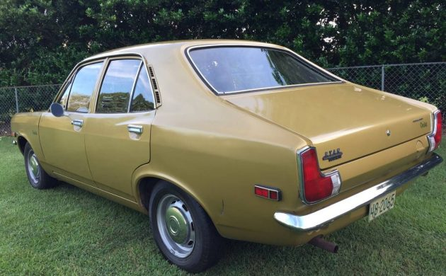 1971 Plymouth Cricket rear 3/4
