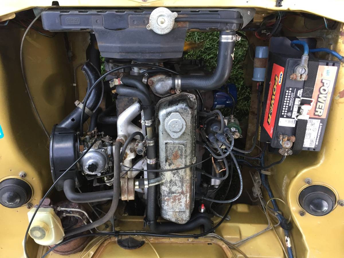 1971 Plymouth Cricket engine