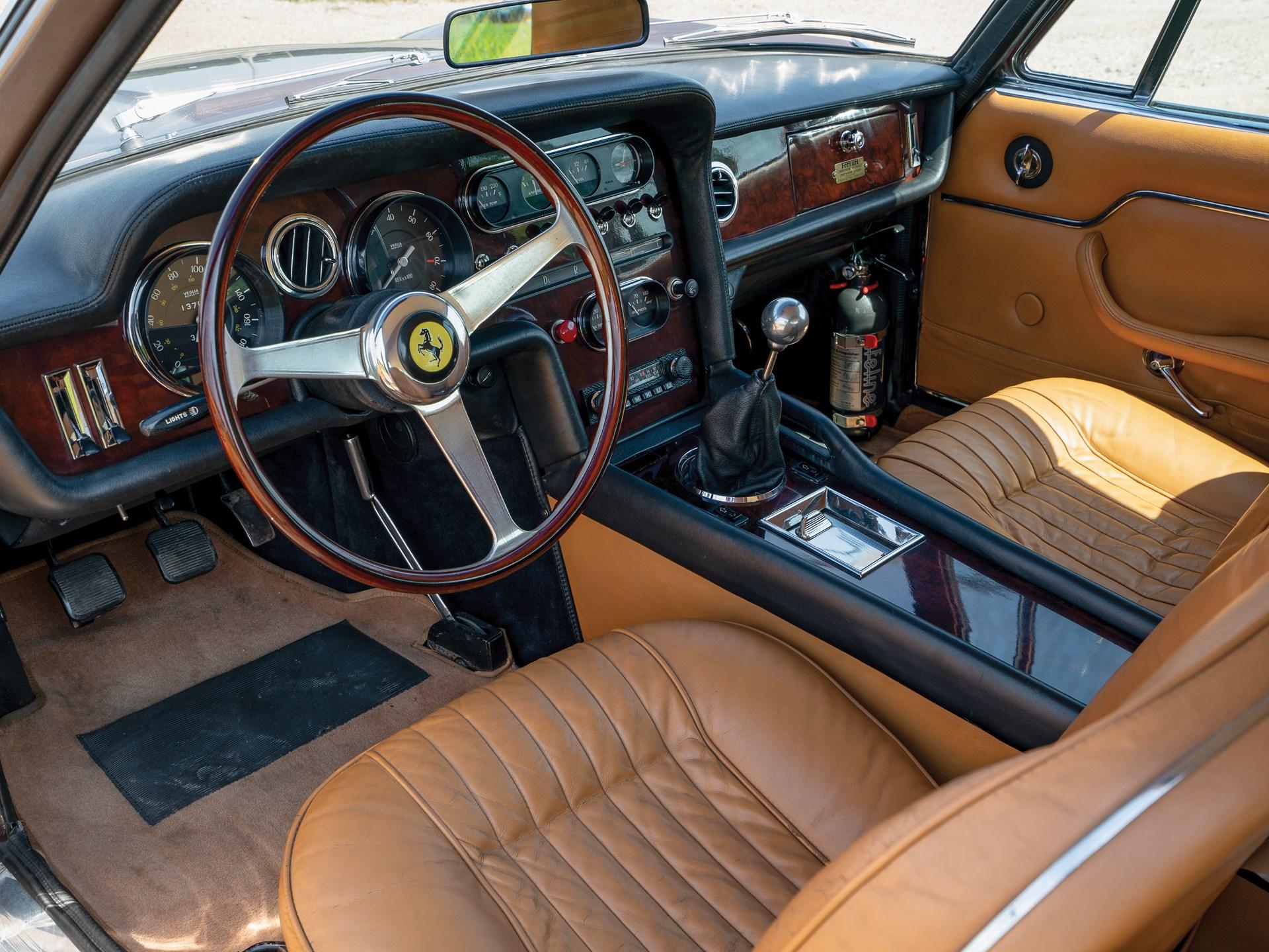 1965 Ferrari 330 GT 2+2 Shooting Brake interior drivers