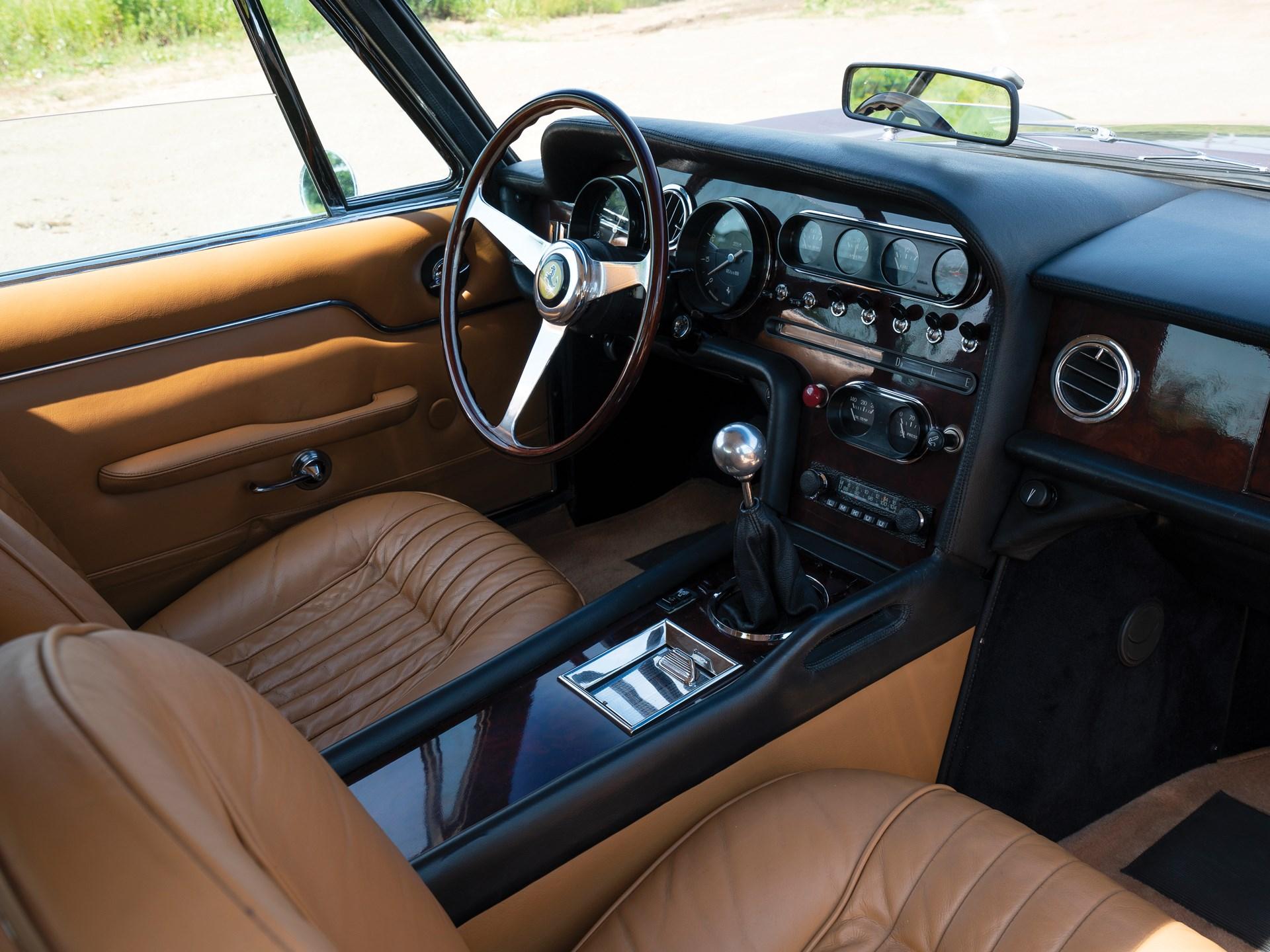 1965 Ferrari 330 GT 2+2 Shooting Brake passenger interior