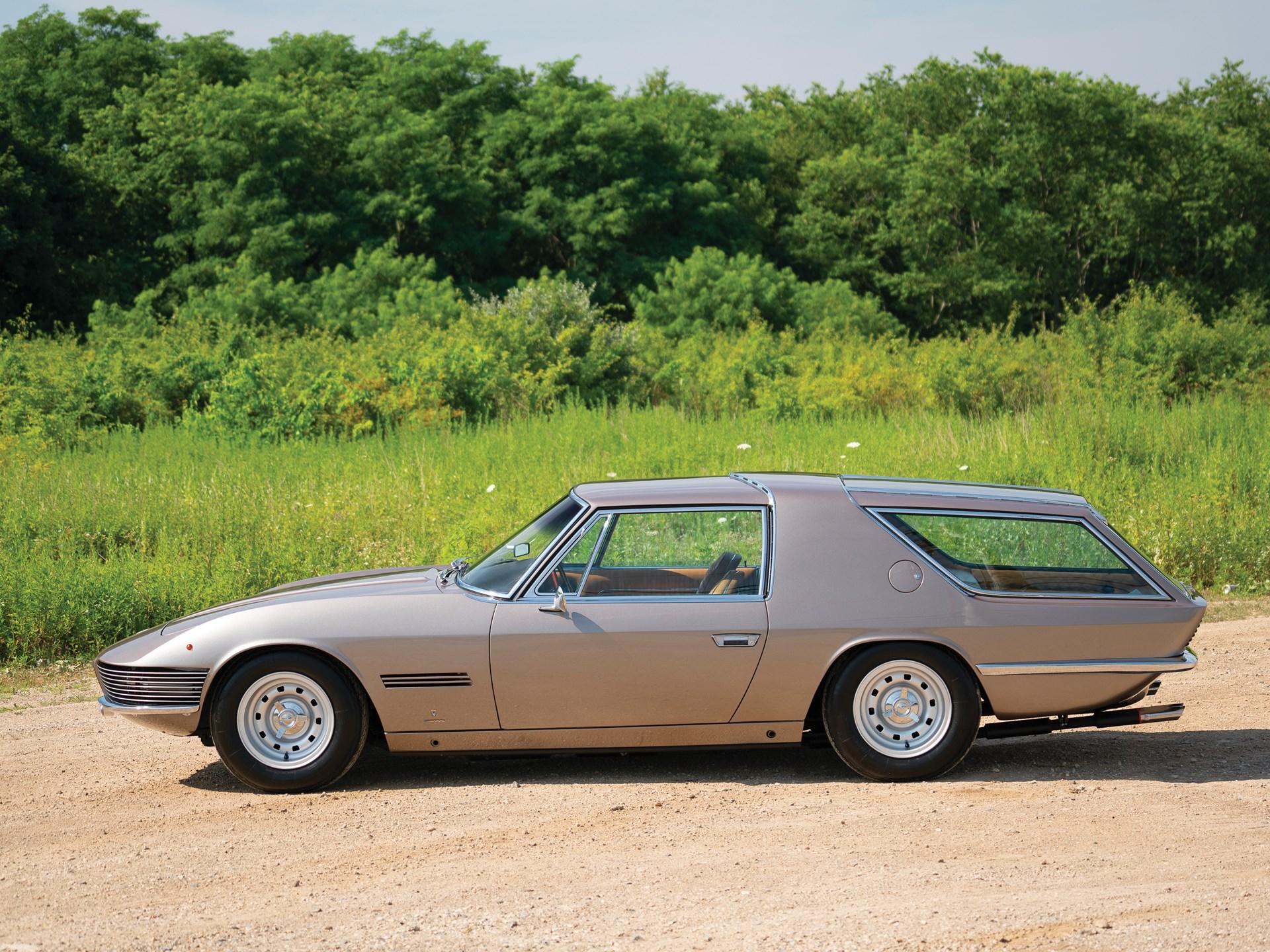 1965 Ferrari 330 GT 2+2 Shooting Brake side profile