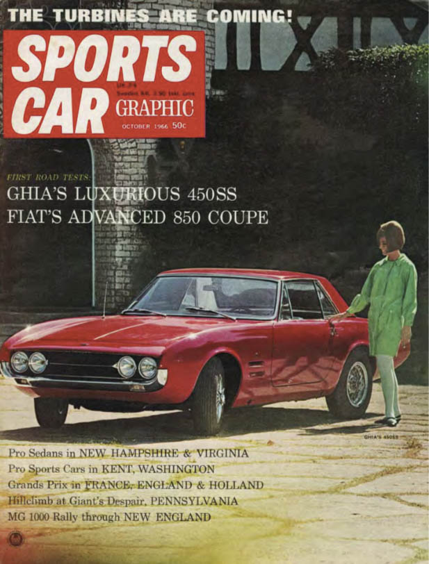 Sports Car Graphic Ghia cover