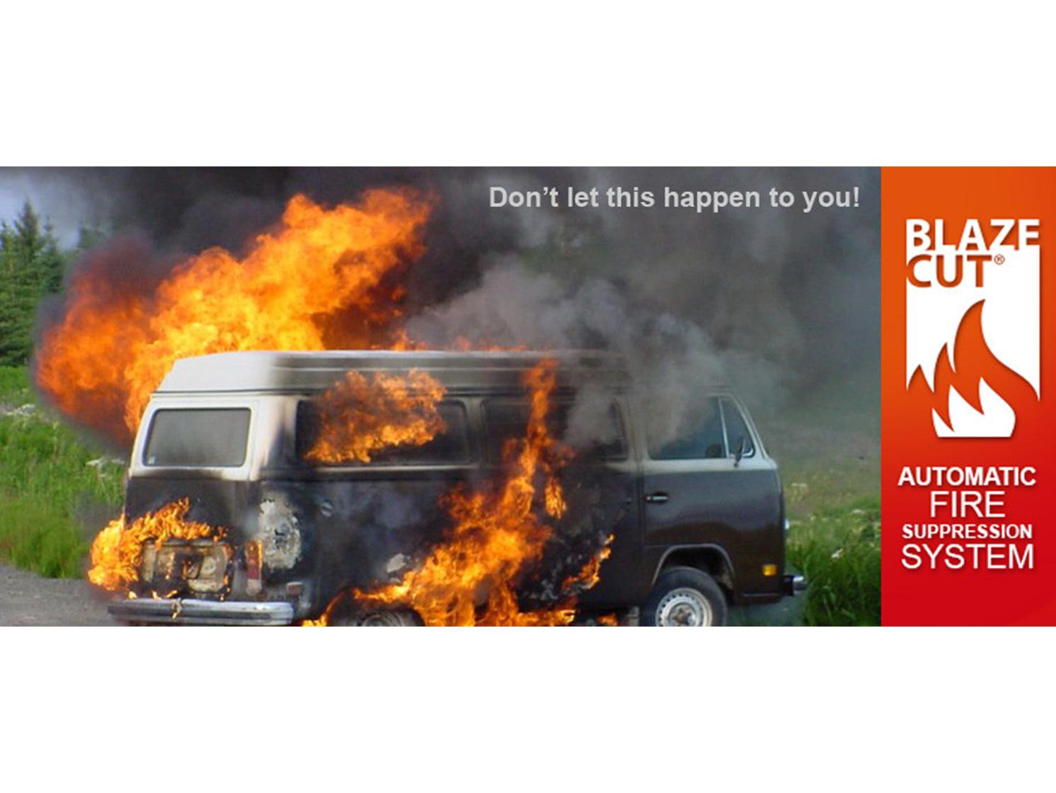 VW on fire thumb