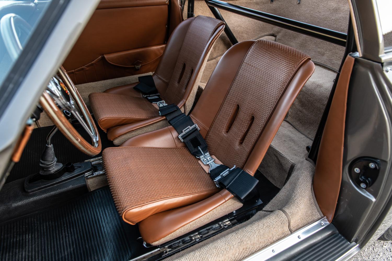 "1960 Porsche ""Emory  Special"" 356 interior seats"