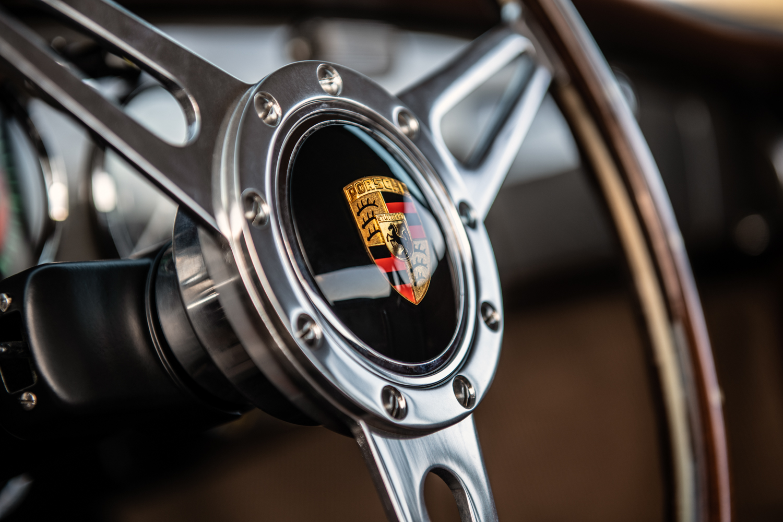 "1960 Porsche ""Emory  Special"" 356 steering wheel"