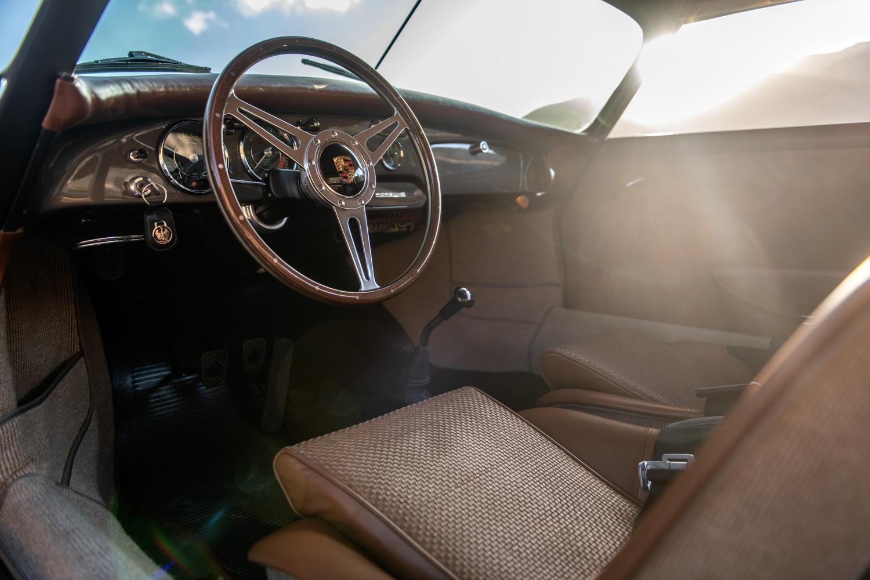"1960 Porsche ""Emory  Special"" 356 interior dash"