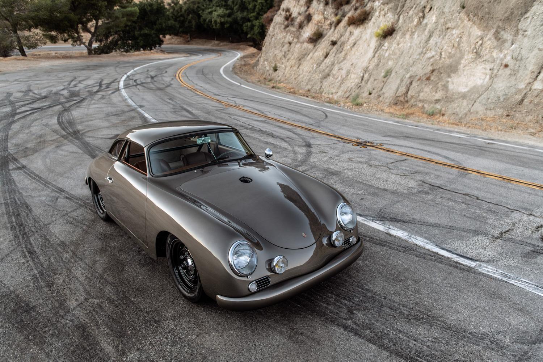 "1960 Porsche ""Emory  Special"" 356 high 3/4 hill"